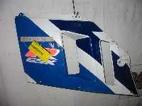 Suzuki GSX R 750 1990-1991 FAIRING LEFT CENTRE 1991