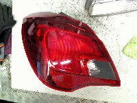 Opel Corsa E Hatchback 1.0 SIDI Turbo 12V (B10XFT(Euro 6)) REAR LIGHT LEFT 2015  13428447