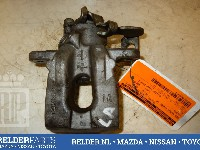 Toyota iQ Hatchback 1.0 12V VVT-i (1KR-FE) BRAKE CALIPER LEFT REAR 2010
